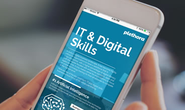 IT &Digital Skills | Online Content Library Infographics