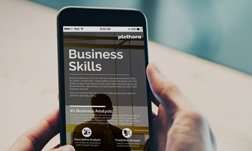 Online Content Library Infographics | Business Skills